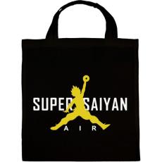 PRINTFASHION Super Saiyan Air - Vászontáska - Fekete