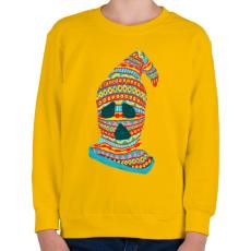 PRINTFASHION Szellemtolvaj - Gyerek pulóver - Sárga