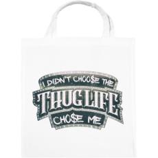 PRINTFASHION Thug Life chose me - Vászontáska - Fehér