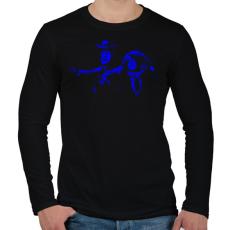PRINTFASHION Toy Story - Férfi hosszú ujjú póló - Fekete