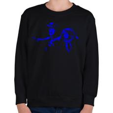 PRINTFASHION Toy Story - Gyerek pulóver - Fekete