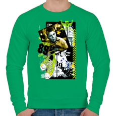 PRINTFASHION TRADE 89 - Férfi pulóver - Zöld