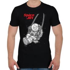 PRINTFASHION Űrhinta - Férfi póló - Fekete
