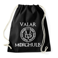 PRINTFASHION Valar Morghulis - Sportzsák, Tornazsák - Fekete tornazsák