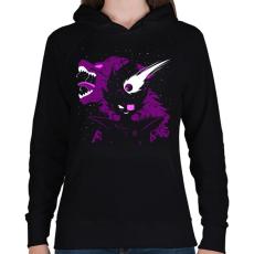 PRINTFASHION Vegeta - Női kapucnis pulóver - Fekete
