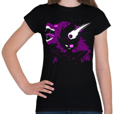 PRINTFASHION Vegeta - Női póló - Fekete