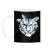 PRINTFASHION White tiger - Bögre - Fekete