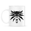 PRINTFASHION Witcher Logo - Bögre - Fehér