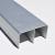 ProAlu Tolóajtó ProALU Universal Exclusiv Felső sín 2fm Alumínium