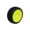 ProCircuit ROAD RUNNER (soft/zöld keverék) Off-Road 1:8 Buggy - sárga felnire ragasztott gumi (2 db)