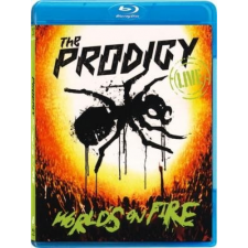 PRODIGY - Worlds On Fire / cd+blu-ray / BRD zene és musical