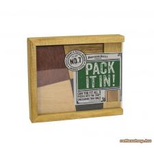 Professor Puzzle PP Pack it In! Logikai játék logikai játék
