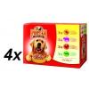 Propesko Eledelcsomag kutyáknak, csirke, marha, pulyka, bárány, 4 x (12 x 100g)