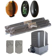 Proteco KIT-MOVER5 MAG - tolókapu kit, 1db MOVER5 tolókapu motor, 1db Q60S vezérlés, beépített fixkódos rádióvevővel biztonságtechnikai eszköz