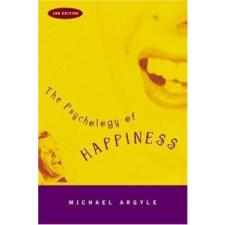 Psychology of Happiness – Michael Argyle idegen nyelvű könyv