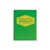Pukka pad Spirálfüzet, A4, vonalas, 100 lap, PUKKA PAD Neon, zöld