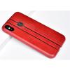 Puloka Elegant prémium hátlaptok Apple iPhone X, vörös