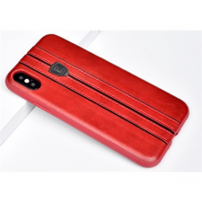 Puloka Elegant prémium hátlaptok Apple iPhone X, vörös tok és táska
