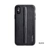 Puloka Style prémium hátlaptok Apple iPhone Xs Max, fekete
