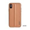 Puloka Style prémium hátlaptok Samsung G973 Galaxy S10, barna