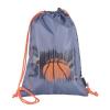 """Pulse Tornazsák,  """"Basketball League"""", szürke-narancssárga"""
