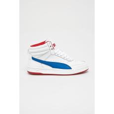 Puma - Gyerek cipő Rebound Street v2 - fehér - 1386377-fehér