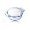 Pyrex 2967 Üveg sütőtál+tető 1 l