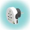 """q2power 1.100110 utazóadapter """"World to Europe USB"""""""