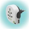 "q2power 1.100190 utazóadapter ""World to Italy USB"""