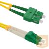 Qoltec Optic Patchcord SC/APC-LC/APC | Singlemode | 9/125 | G652D | Duplex | 1m