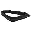 Qoltec Universal sports belt for smartphone/key | double | black