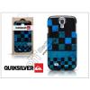 Quiksilver Samsung i9500 Galaxy S4 hátlap képernyővédő fóliával - Quiksilver Graphic - black/blue