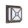 Rabalux 8190 - Kültéri fali lámpa DARIUS 2xE27/60W/230V