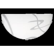 RÁBALUX Rábalux 1817 Soley, fali lámpa, D30cm E27 1x MAX 60W fehér/ átlátszó világítás