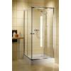 Radaway Classic C /80*80 zuhanykabin tálca nélkül, króm profillal,többféle mintázatú bizt.üveggel