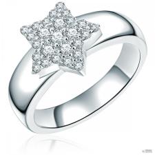 "RafaelaDonata gyűrű ""Stern"" Sterling ezüst cirkónia Fehér gyűrű 52 gyűrű"