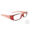 Raffa Designer piros olvasó szemüveg