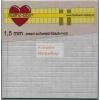 Ragasztókocka - Fekete 1,5mm - 3D Ragasztókocka 5 x 5 mm, holland