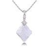 Ragyogj.hu Alonza - Swarovski kristályos nyaklánc - fehér