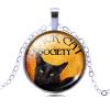 Ragyogj.hu Black cat nyaklánc  1.