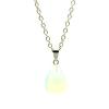 Ragyogj.hu Csepp alakú természetes kőből készült nyaklánc - kék opál