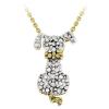 Ragyogj.hu Gyémánt kutyus - valódi gyémánttal ékesített aranyozott nyakék