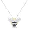 Ragyogj.hu Gyémánt méhecske - valódi gyémánttal ékesített aranyozott nyakék