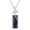 Ragyogj.hu Kami - Swarovski kristályos nyaklánc - fekete