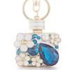 Ragyogj.hu Parfüm - kristályos kulcstartó - kék