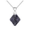 Ragyogj.hu Sugi - Swarovski kristályos nyaklánc - csillámos fekete