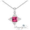 Ragyogj.hu - Swarovski Orion - rózsaszín - Swarovski kristályos nyaklánc