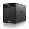 "RaidSonic IB-3640SU3 RaidSonic ICY BOX 4x3.5"" SATA HDD külső ház USB 3.0 és SATA fekete /IB-3640SU3/"