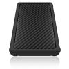 RaidSonic Icy Box IB-223U3a-B 2,5'' USB 3.0 protection sleeve fekete külső merevelmez ház