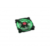 RAIJINTEK Auras 12 LED 2db-os zöld 120mm (0R400036)